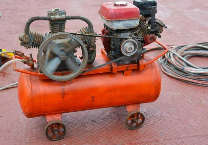 Compressore professionale per cantieri o garage