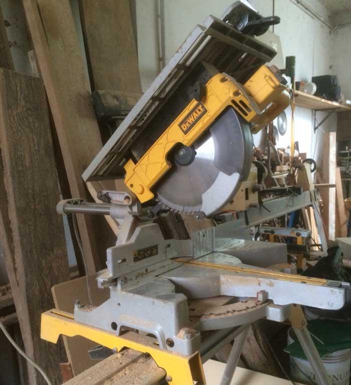 Troncatrice economica per legno