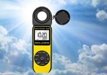 Luxmetro per misurare i lumen