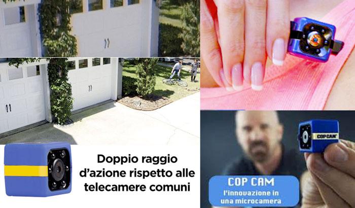 Caratteristiche di CopCam