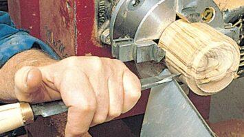 Utensili per tornio legno