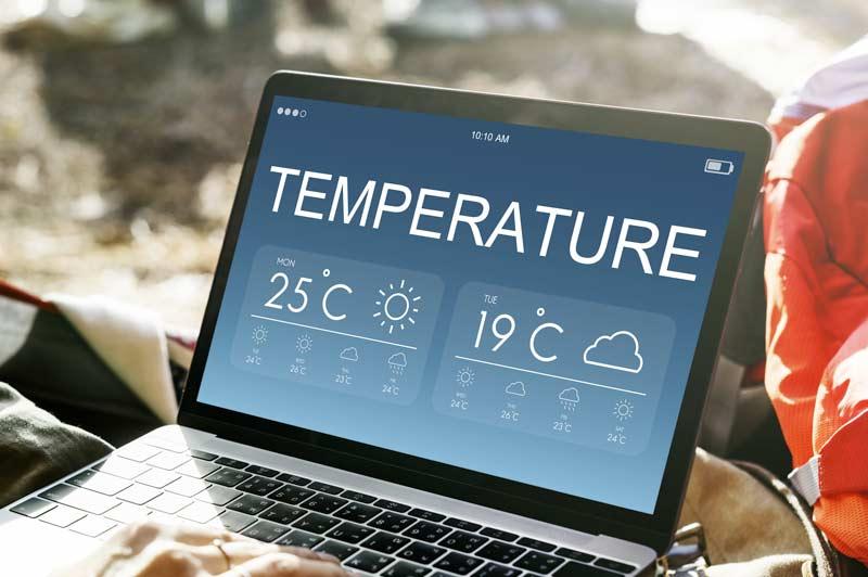 Termometro domestico