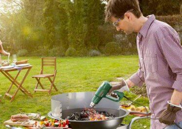 Accendere il barbecue in maniera veloce
