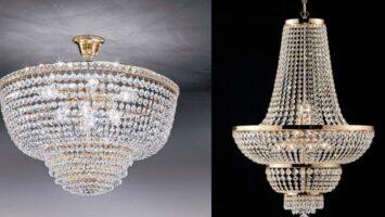 Lampadari in cristallo
