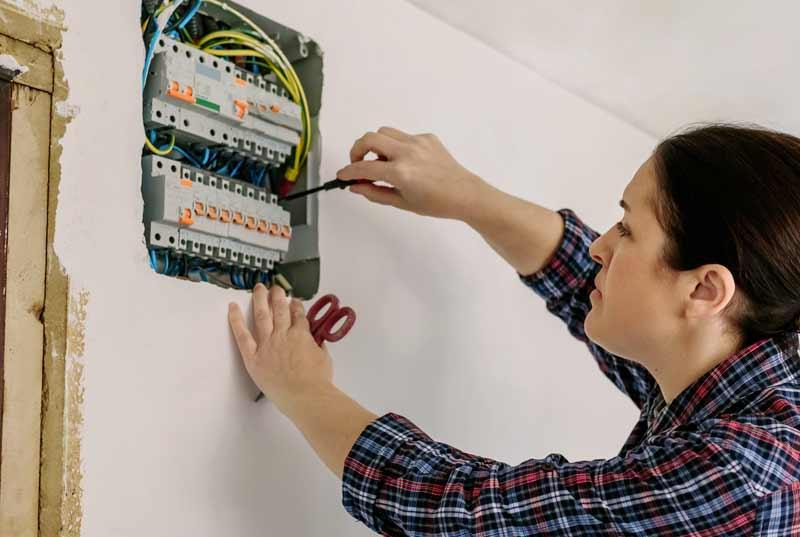 Forbici da elettricista professionali